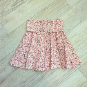 American Apparel Floral Skirt / Dress M